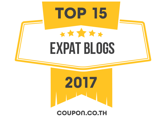 Banners for Top 15 Expat Blogs 2017