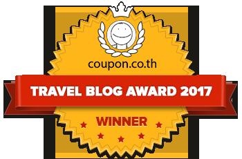 Banners for Travel Blogs Award 2017 – winner