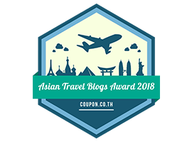 Banners for Asian Travel Blogs Award 2018