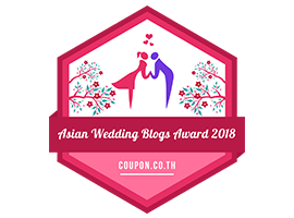 Banners for Asian Wedding Blogs Award 2018