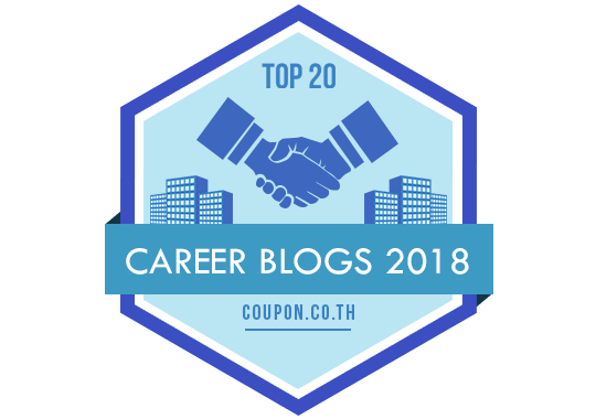 Banners for Top 20 Career Blogs 2018