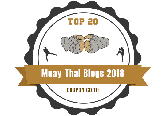 Banners for Top 20 Muay Thai Blogs 2018