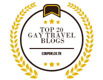Banners for Top 20 Gay Travel Blogs