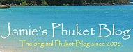 Top 20 Thailand Bloggers | Jamie's Phuket Blog