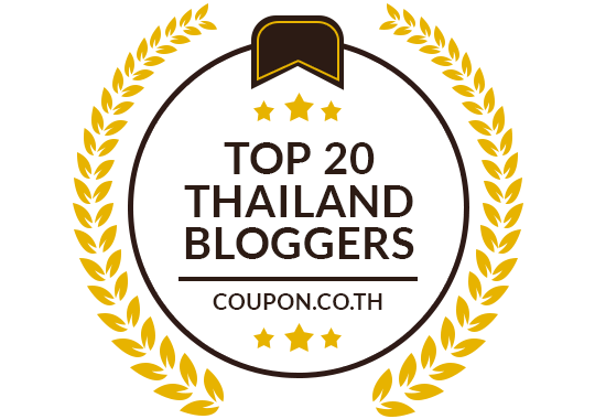 Banners for Top 20 Thailand Bloggers