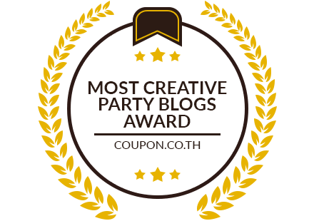 Banners for Most Creative Party Blogs Award