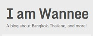Top 25 Best Bloggers in Thailand | I am wannee