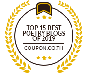 Banners for Top 15 Best Poetry Blogs of 2019