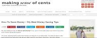 Top 35 Money Saving Blogs of 2020 makingsenseofcents.com